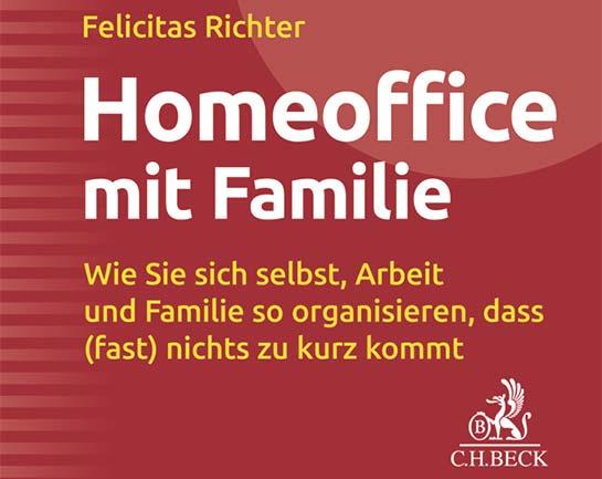 Ausschnitt Buchcover: HomeOffice mit Familie