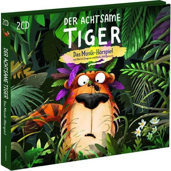 Cover: Der achtsame Tiger Hörspiel für die ganze Familie