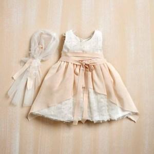 Βαπτιστικά ρούχα για κορίτσι bellissimo