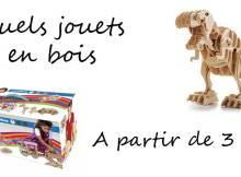 Quels jouets en bois pour des enfants à partir de 3 ans