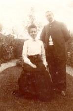 1903 - Gustave LANDRIEU (44) & Marguerite DOREMIEUX - boulevard Pater à Valenciennes