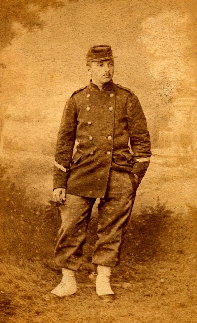Émile MAILLET, frère d'Olympe MAILLET, (x 1)