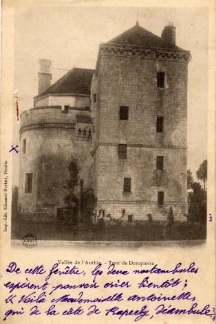 Carte Postale - Tour de Dampierre/Authie - Propriété de la famille PADIEU d'Amiens