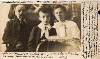 1909 - Famille Raoul LANDRIEU (12) au Québec - Raoul LANDRIEU (12) - Pierre LANDRIEU (121) - Mathilde FERLAND-LANDRIEU (x 12)