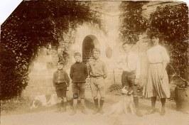 # 1911 à Dompierre/Authie : François PADIEU (532) - Michel LANDRIEU (171) - Denis (533) - Gui (534) - ????