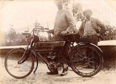 # 1914 - Gustave PADIEU (x 53) et Maurice LANDRIEU (16)
