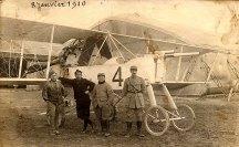 """8 janvier 1916 - François PADIEU (532) sur un """"Voisin"""""""
