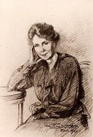# 1922 - Palmyre LANDRIEU-DUPONT (21) - Dessin d'Anne-Marie DUPONT (211)
