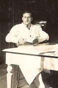 1935 - Henri LANDRIEU (163) - A la faculté de pharmacie à Amiens (80)