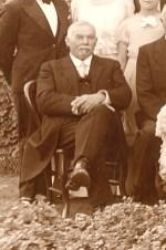 23/09/1935 - Gaston LANDRIEU (17) au mariage d'Alfred et Janine FLOCHEL à Mezoutre (80)