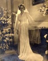 # 1940 - Claude CHEVREUX (5212) - Le jour de son mariage avec Auguste HECKSCHER