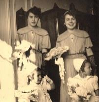 1950 - Mariage de Françoise PADIEU.