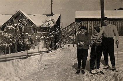 Janvier 1951 à Morzine