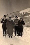 """Janvier 1951 à Morzine - """"La Sauvageonne"""""""