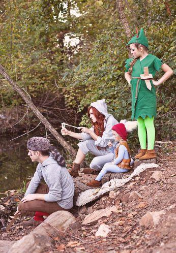 Peter Pan y los niños perdidos. Disfraz familiar. II