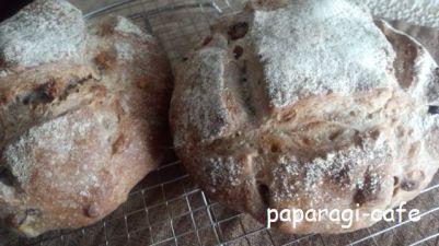 栗と胡桃の田舎パン-1