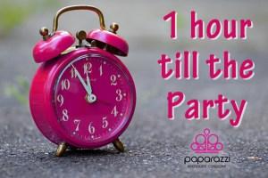 1 hour left until the Paparazzi party
