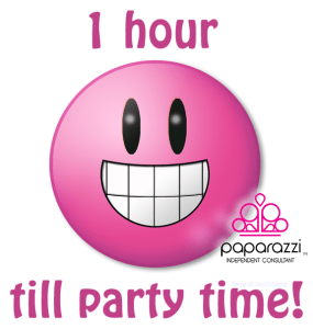1 hour left until the Paparazzi jewelry party | Paparazzi image
