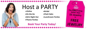 Host a Party | Paparazzi Jewelry Facebook event image