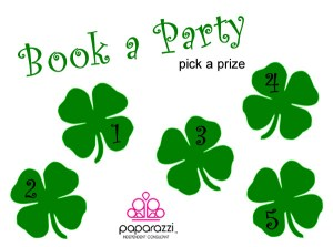 book a party clovers | Paparazzi party game