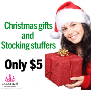 Paparazzi has Christmas gifts and stocking stuffers