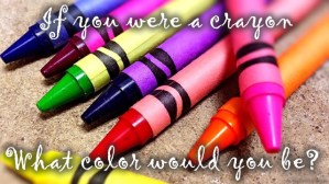 If you were a crayon | Paparazzi party game