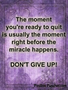 Don't give up quote | Paparazzi jewelry team inspiration