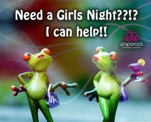 Paparazzi girls night graphic