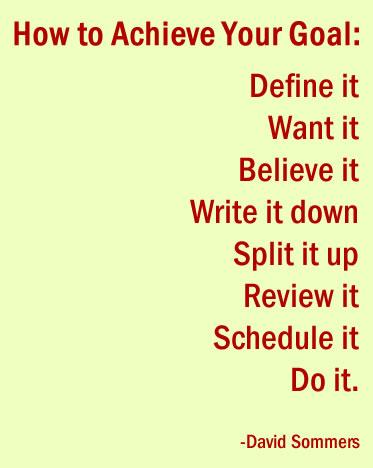 setting goals image