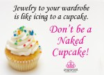 Don't be a naked cupcake - Paparazzi jewelry image