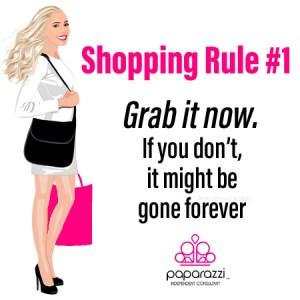 Paparazzi shopping rule #1 | Paparazzi images