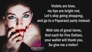 Roses are Red - Paparazzi Jewelry poem