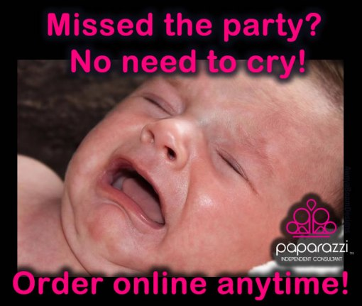 missed the Paparazzi jewelry party - order online anytime