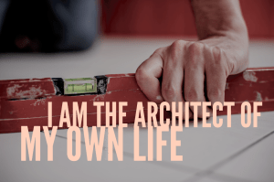 my own life - Architect quote