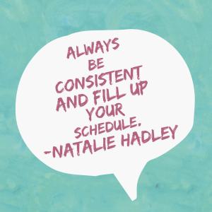 Natalie Hadley quote