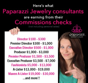 Paparazzi Jewelry Commission checks image