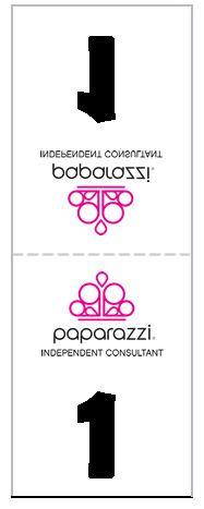 picture about Paparazzi Printable Numbers named Fb Reside reversible figures (cost-free and printable) Papa