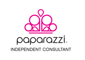 Paparazzi Accessories Logo - pink and black