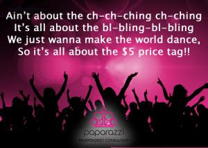 all about the price tag - Paparazzi jewelry