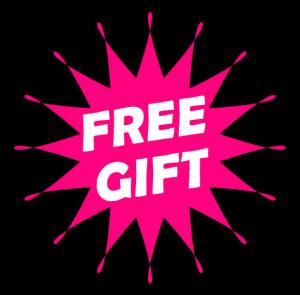 free gift graphic