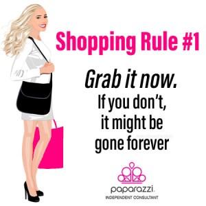 Paparazzi Jewelry Shopping Rule #1