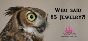 Who said $5 Jewelry