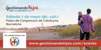 Nos vamos a Gestionando Hijos Barcelona: 6/7 de mayo