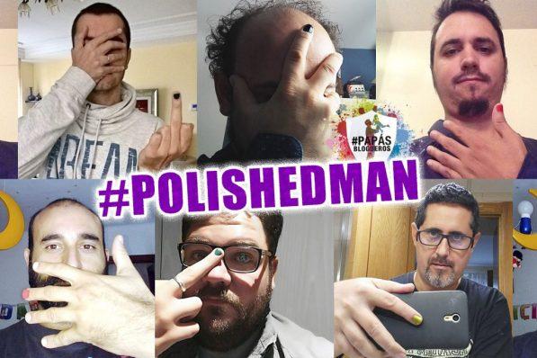 Algunos papasblogueros participando en #polishedman