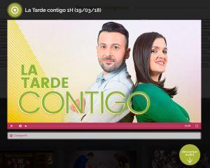 Portada programa La Tarde Contigo de Canal Extremadura
