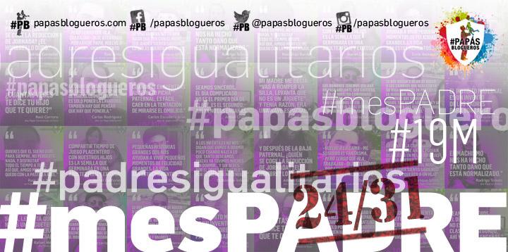imagen de la campaña #mesPADRE