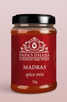 Papa's Dhaba – Madras Spice Mix
