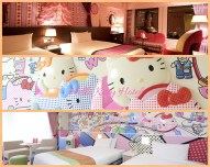 Keio Plaza Hotel Feature Hello Kitty themed rooms