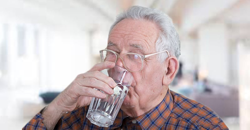 Facts about Dehydration in elderly