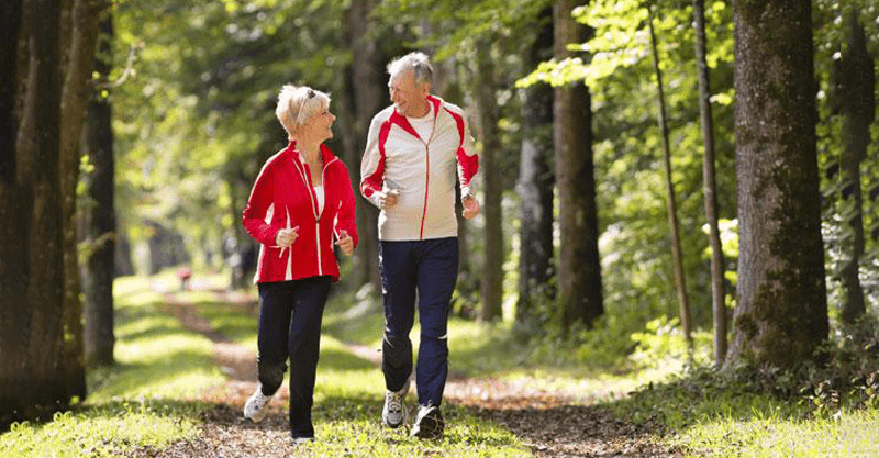 stay healthy during old age